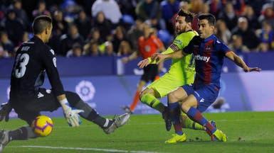 برشلونة ينتقم من ليفانتي ويمزق شباكه بخماسية ثقيلة
