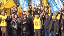 'Yellow vests' reach Turkey as thousands protest cost of living
