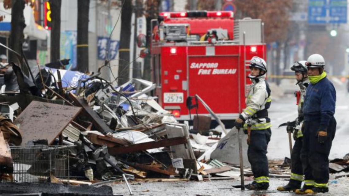 انفجار در یک میکده در ژاپن 42 زخمی برجای گذاشت