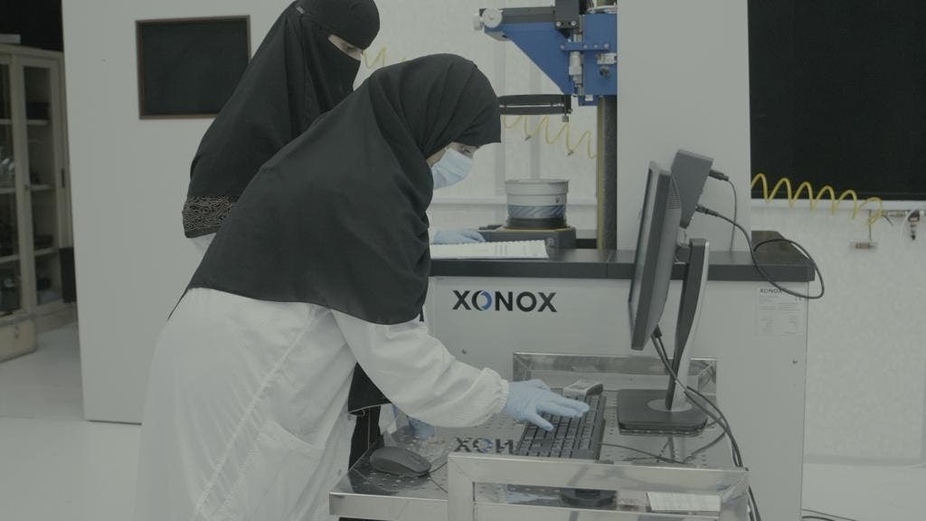 Saudi women space industry. (Supplied)