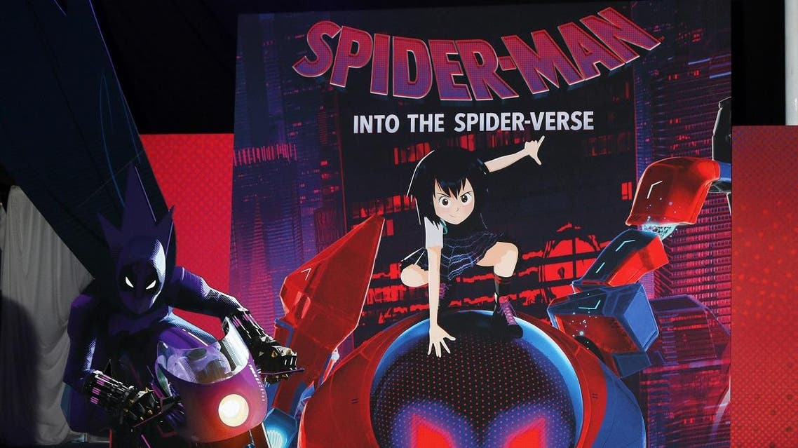 """Atmosphere at the """"Spider-Man: Into the Spider-Verse"""" Premiere at the Village Theater on December 1, 2018 in Westwood, CA. (Shutterstock)"""
