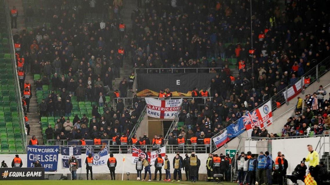 Chelsea fans Action Images via Reuters/Matthew Childs