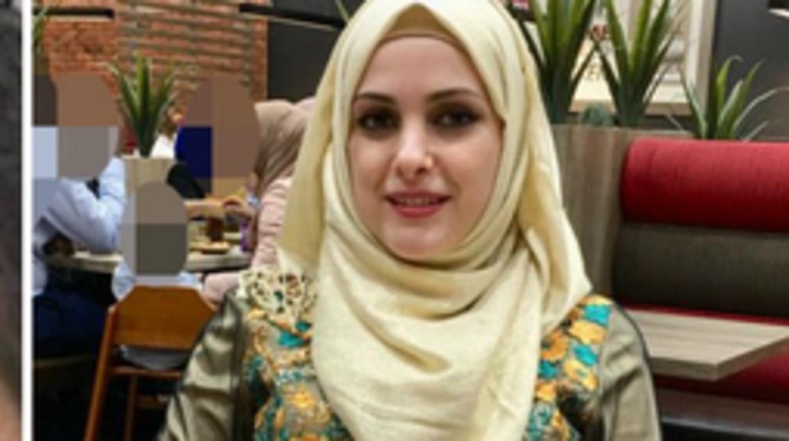 Murdered Syrian ex-wife. (Twitter)