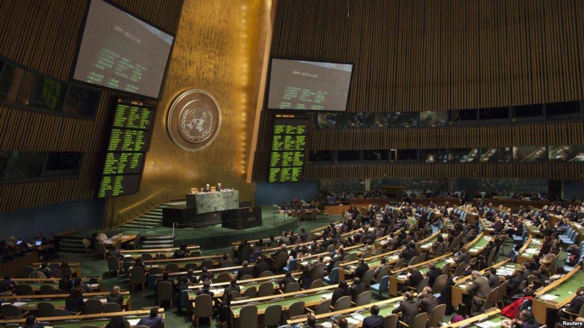 نتائج التصويت حول القرار الامم بشان ايران الجمعية العامة للامم المتحدة