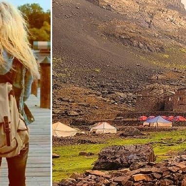 عطلة في جبال أطلس المغربية تنتهي باغتصاب وذبح سائحتين