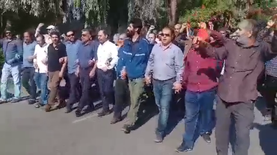 ahwaz protest - supplied