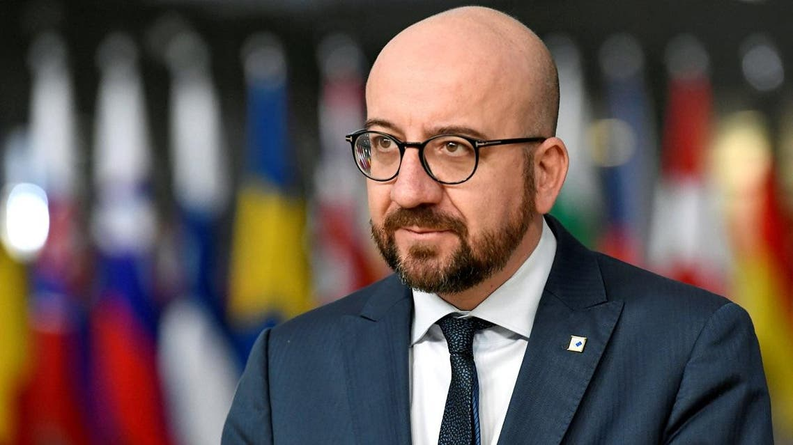 Belgium's Prime Minister Charles Michel arrives at a European Union leaders summit in Brussels. (Reuters)