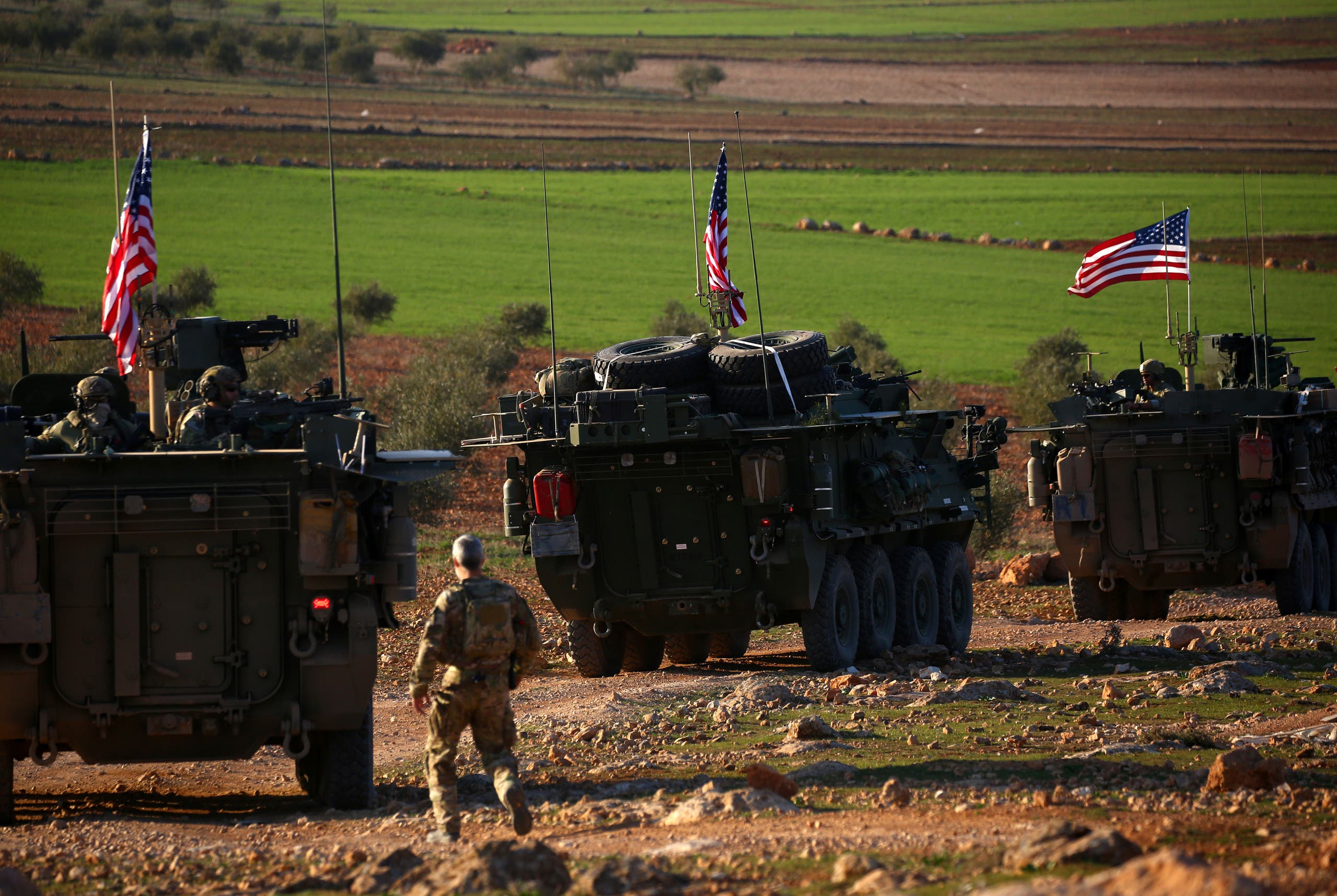 قوات أميركية في سوريا (أرشيفية- فرانس برس)