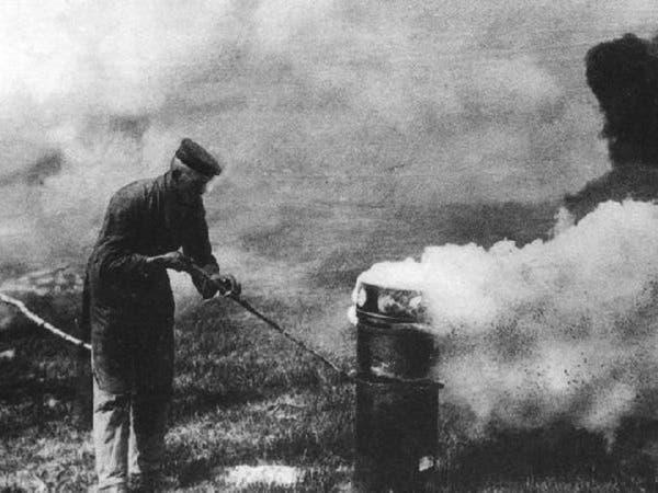 بالصور.. هذه الأسلحة استخدمت في الحرب العالمية الأولى!
