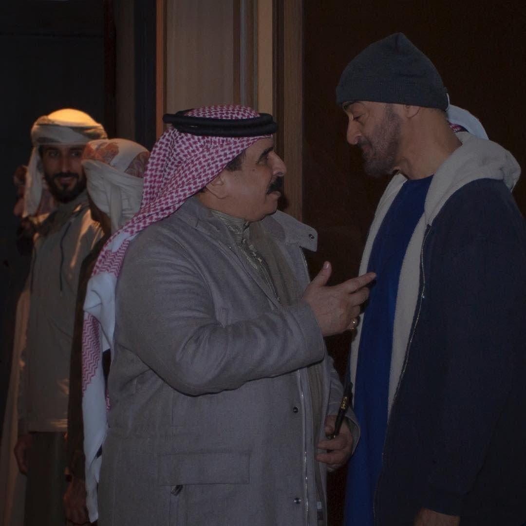 bahrain king abudhabi crown prince