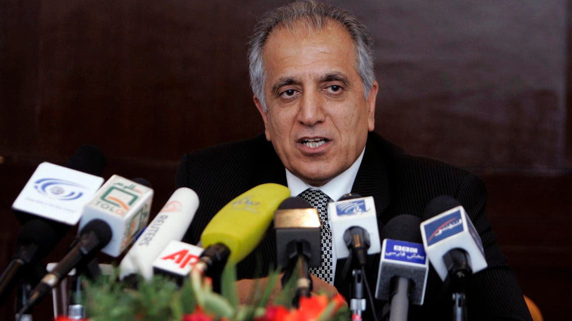 Zalmay Khalilzad in Kabul on March 13, 2009. (AP)