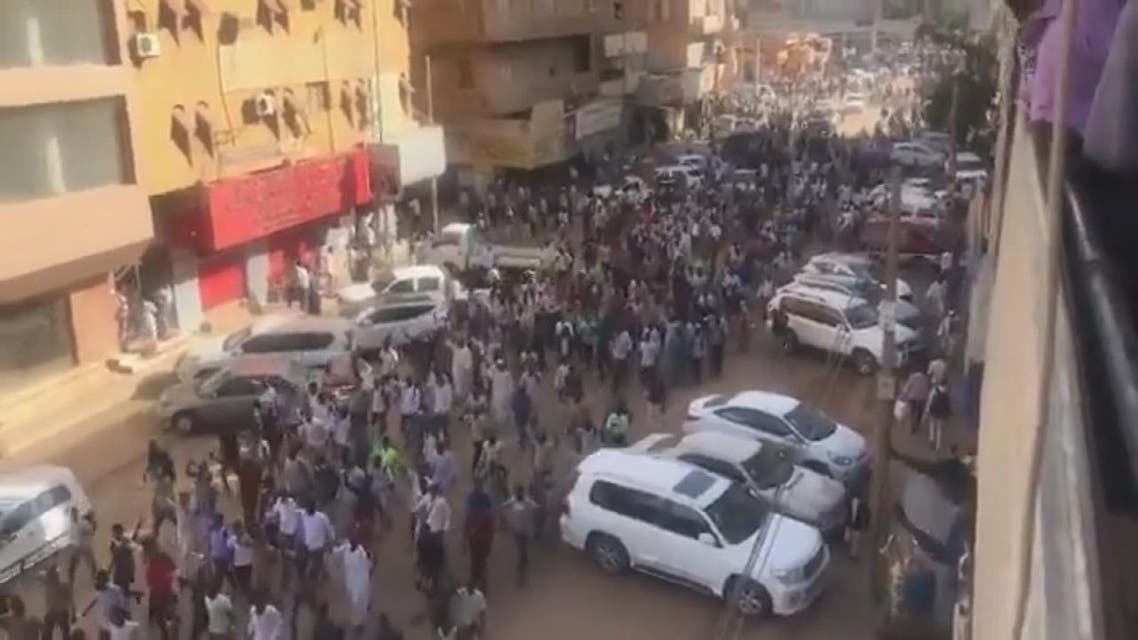 THUMBNAIL_ احتجاجات السودان تصل الخرطوم