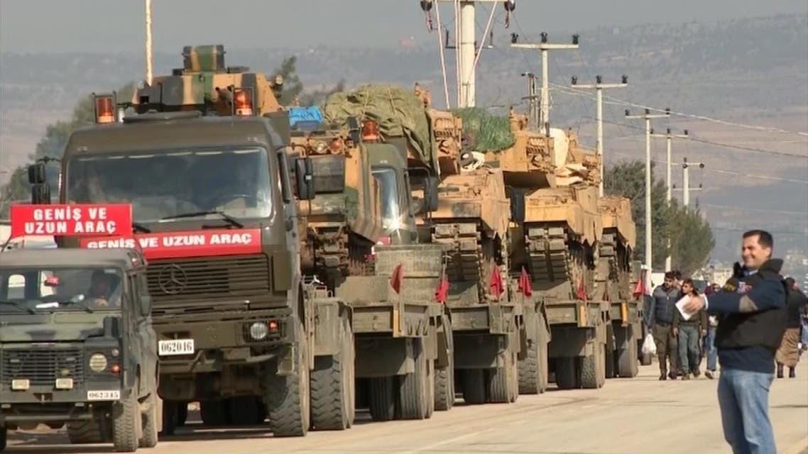 تركيا تواصل انتشارها العسكري على الحدود مع سوريا