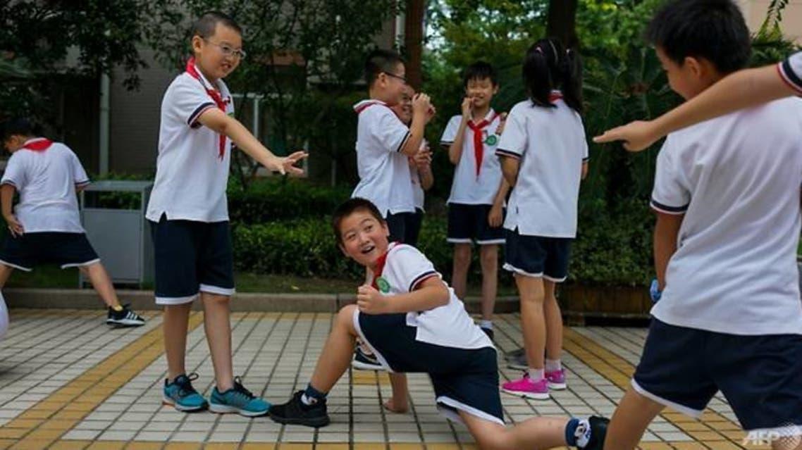 تلاميذ في الصين