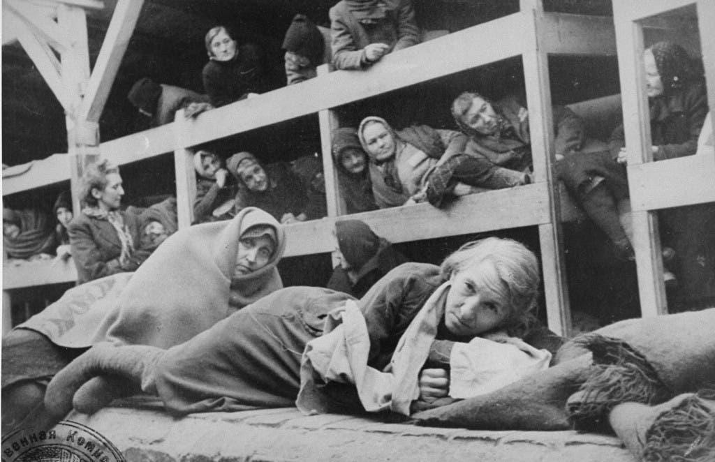 صورة من معسكر الموت بأوشفيتز