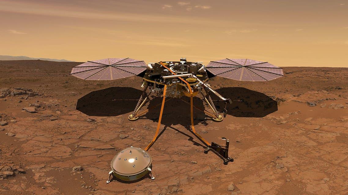 المسبار إنسايت على المريخ