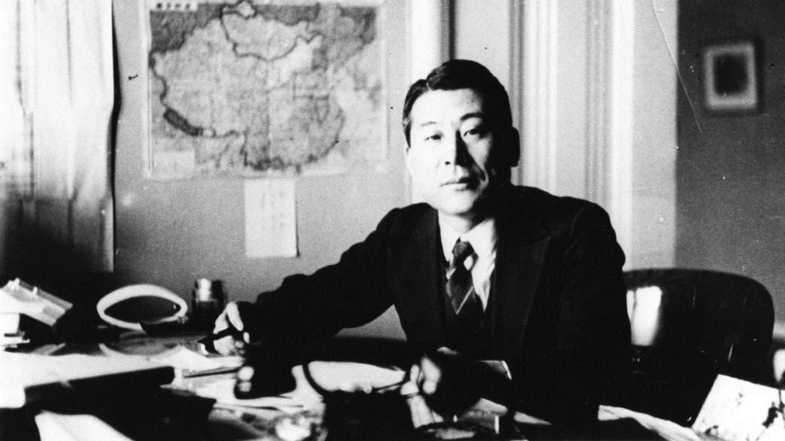صورة للدبلوماسي الياباني تشيونه سوغيهارا