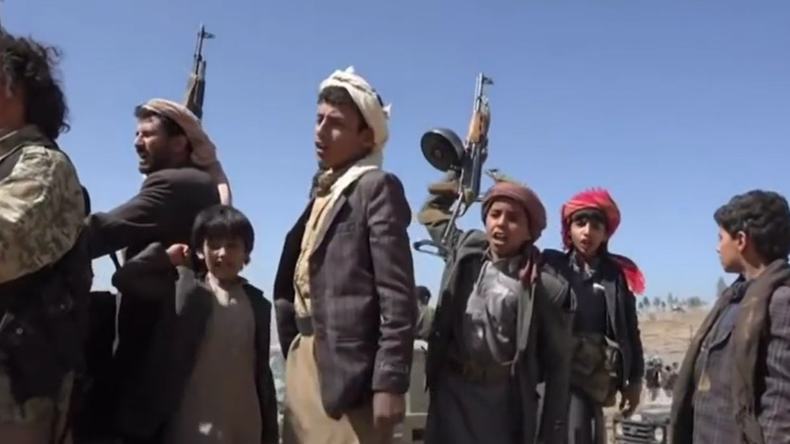 Yamen: kids and Houthis