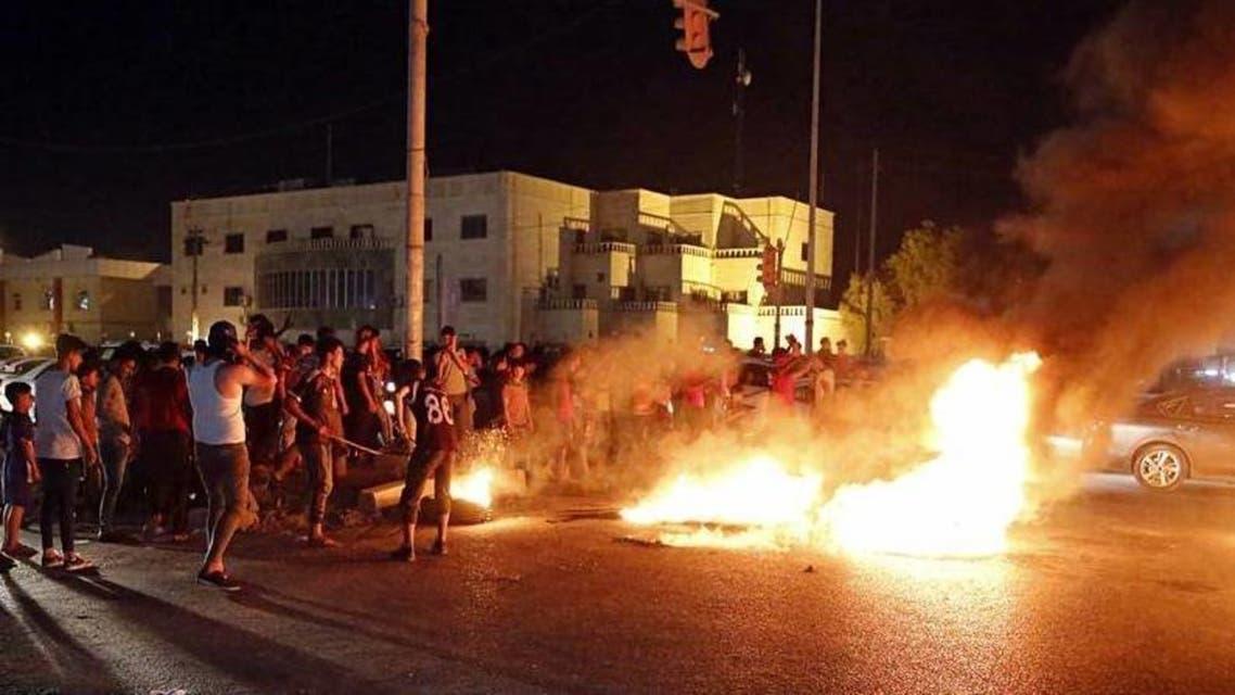 مظاهرات سابقة في البصرة