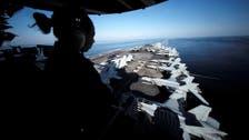 ایران پر نظر رکھنے کے لیے امریکی طیارہ بردار بحری جہاز خلیج میں