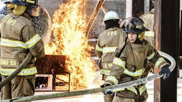 Meet Saudi Arabia's first certified female firefighters - Al Arabiya