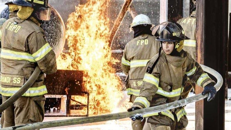 Meet Saudi Arabia's first certified female firefighters ...