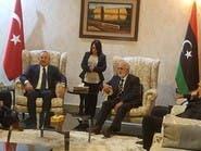 بعد ضبط شحنات أسلحة.. وزير خارجية تركيا يزور ليبيا