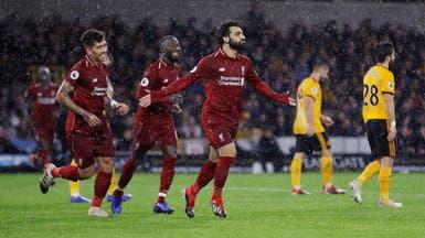 صلاح يقود ليفربول لفوز صعب ويتصدر ترتيب الهدافين