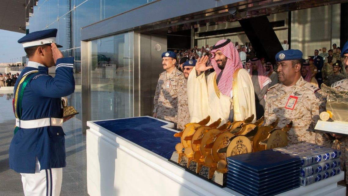 Saudi Crown Prince oversees King Faisal Air Academy graduation main