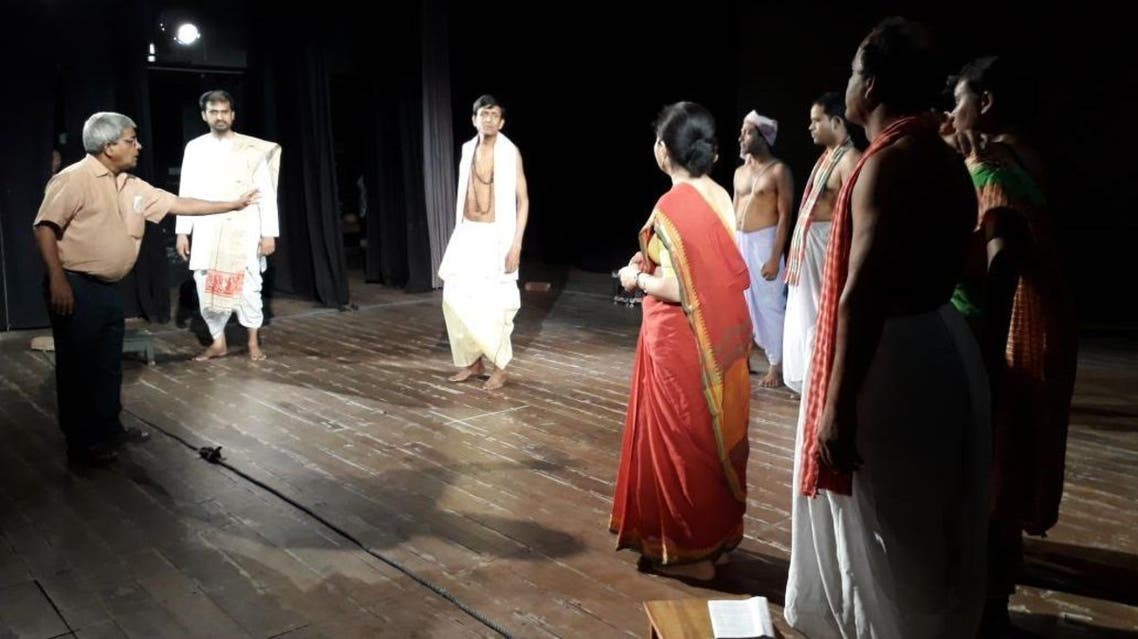 Ashok Pramanik with his flock. (Supplied)