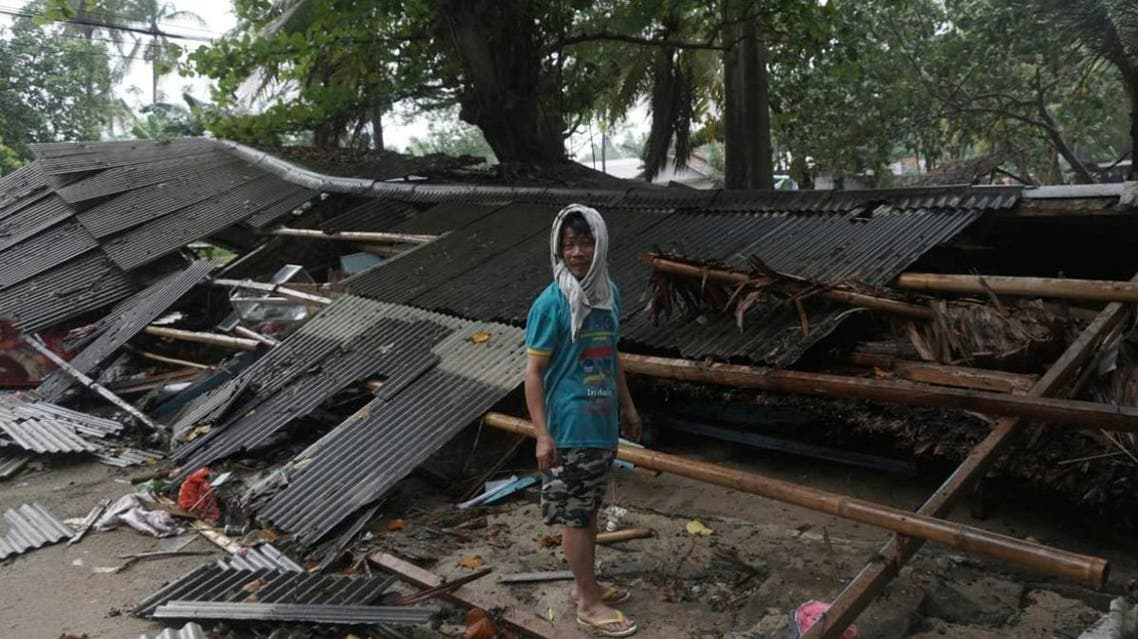 Indonesia tsunami. (AP)
