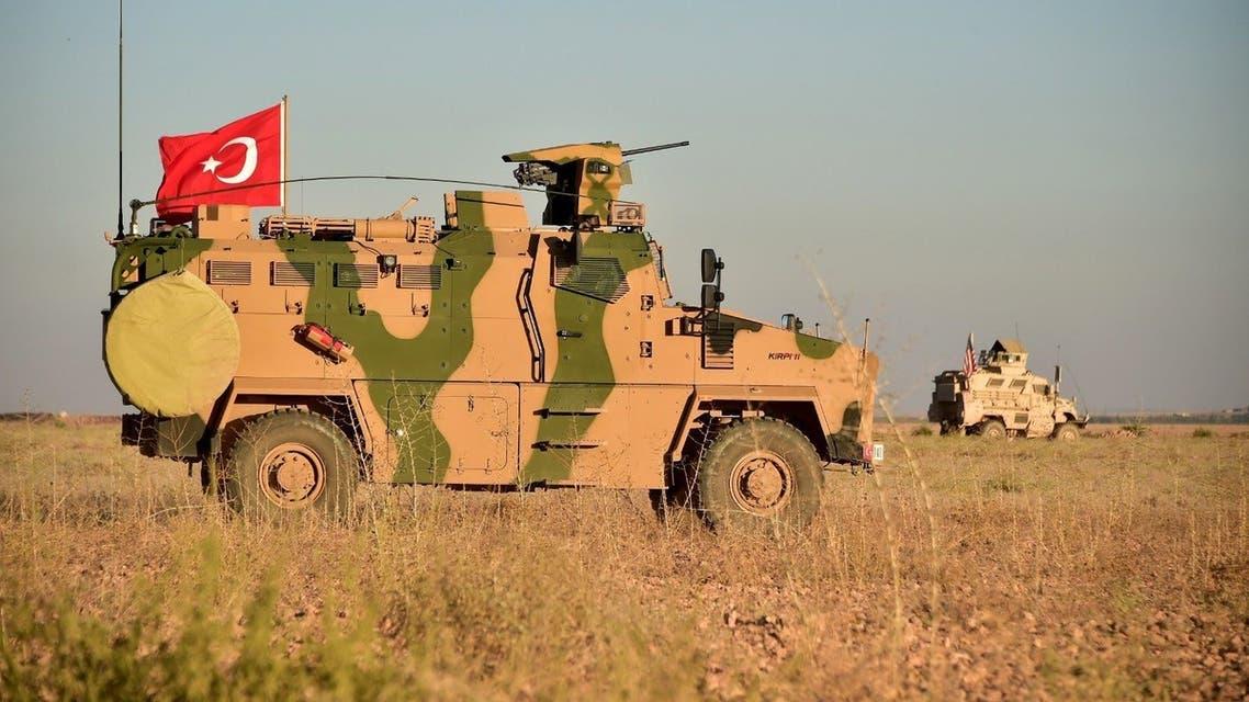 آليات تركية شمال سوريا