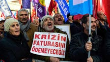 IN PICTURES: Thousands protest in Istanbul against higher living costs
