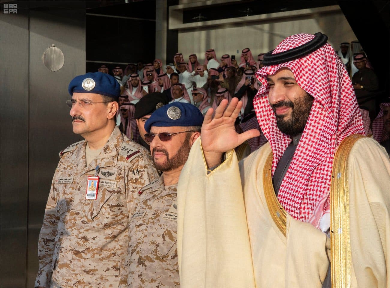 Saudi Crown Prince oversees King Faisal Air Academy graduation 6