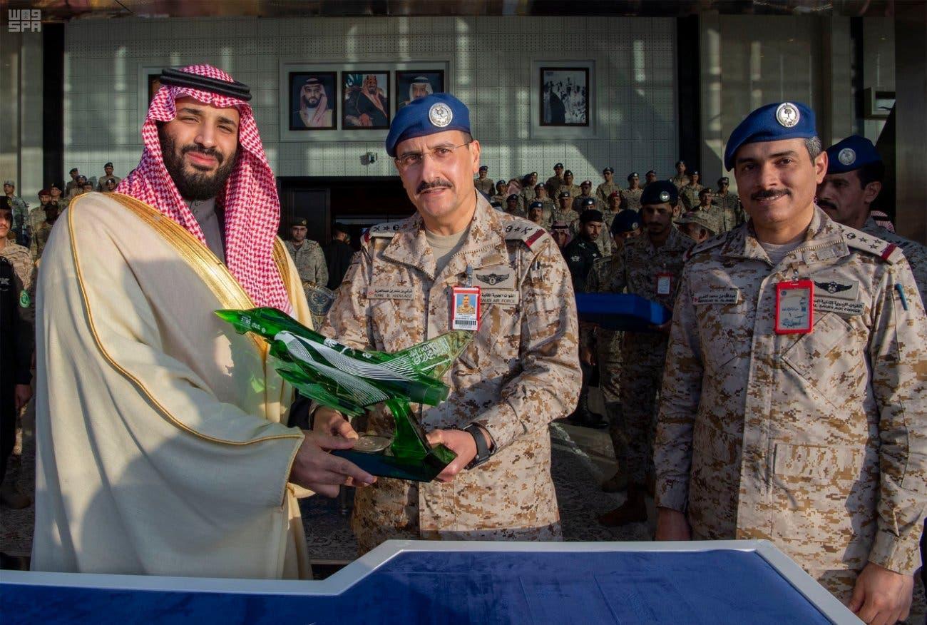 Saudi Crown Prince oversees King Faisal Air Academy graduation 7