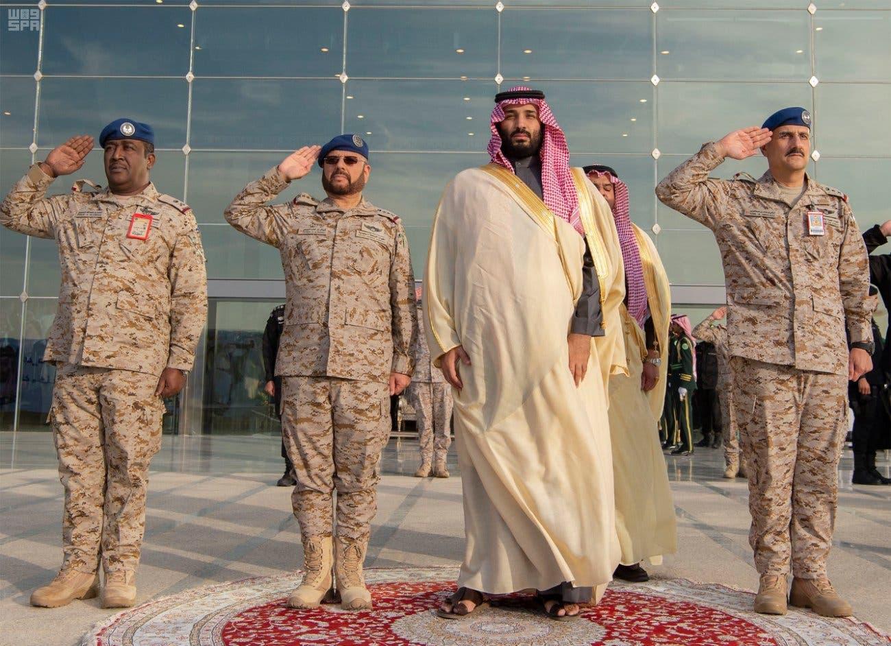 Saudi Crown Prince oversees King Faisal Air Academy graduation 2