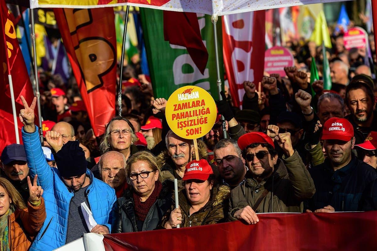 Turkey protests. (AFP)