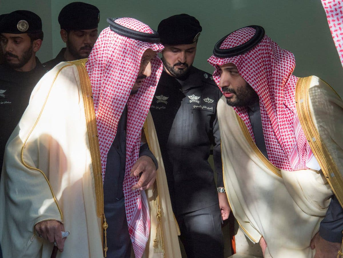 Saudi King Salman performs funeral prayers on late Prince Talal