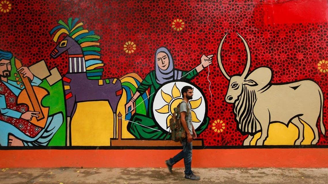 A tourist is seen visiting the national heritage museum in Islamabad. (File photo: Reuters)