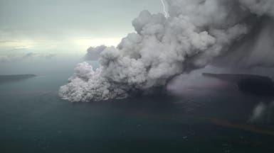 إندونيسيا تحذر من ثوران بركاني قد يؤدي لتسونامي جديد