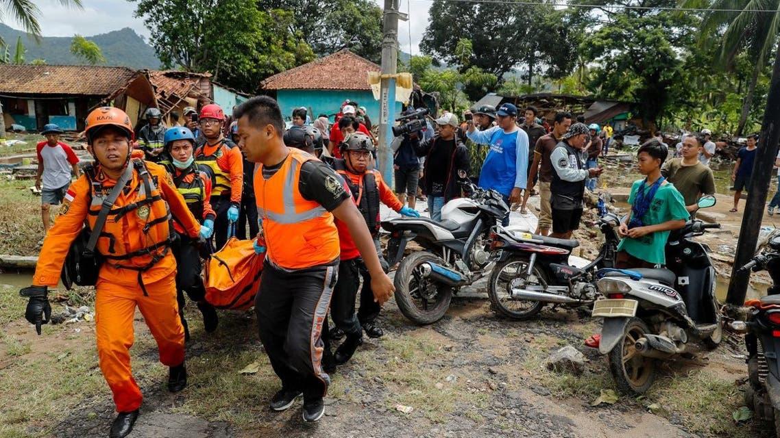 Indonesia tsunami. (Reuters)