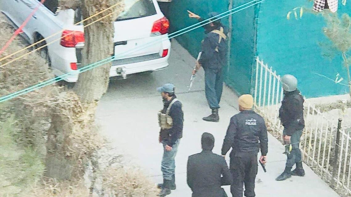 5 انفجار در نزدیک وزارت فواید عامه افغانستان؛ دو مهاجم کشته شدند