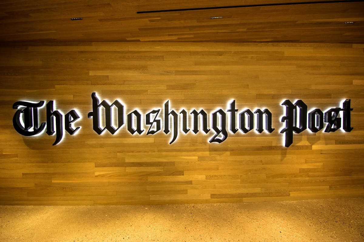 the washington post. (Shutterstock)