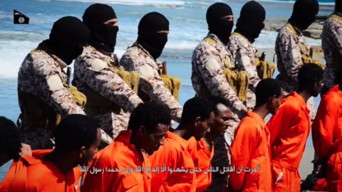 ISIS ethiopian christians beheading. (Screengrab)