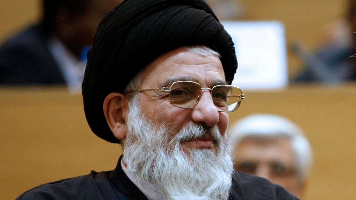 In this April 22, 2009, file photo, Iran's judiciary chief and head of Expediency Council Ayatollah Mahmoud Hashemi Shahroudi attends a conference in Tehran. (Reuters)