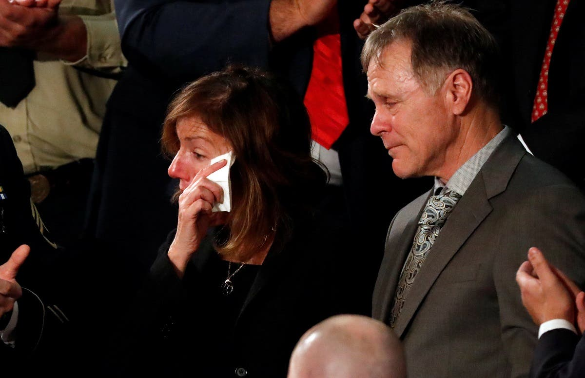 Fred and Cindy Warmbier said in a statement they had promised their son, a University of Virginia student who was detained in North Korea since early January, justice. (Reuters)