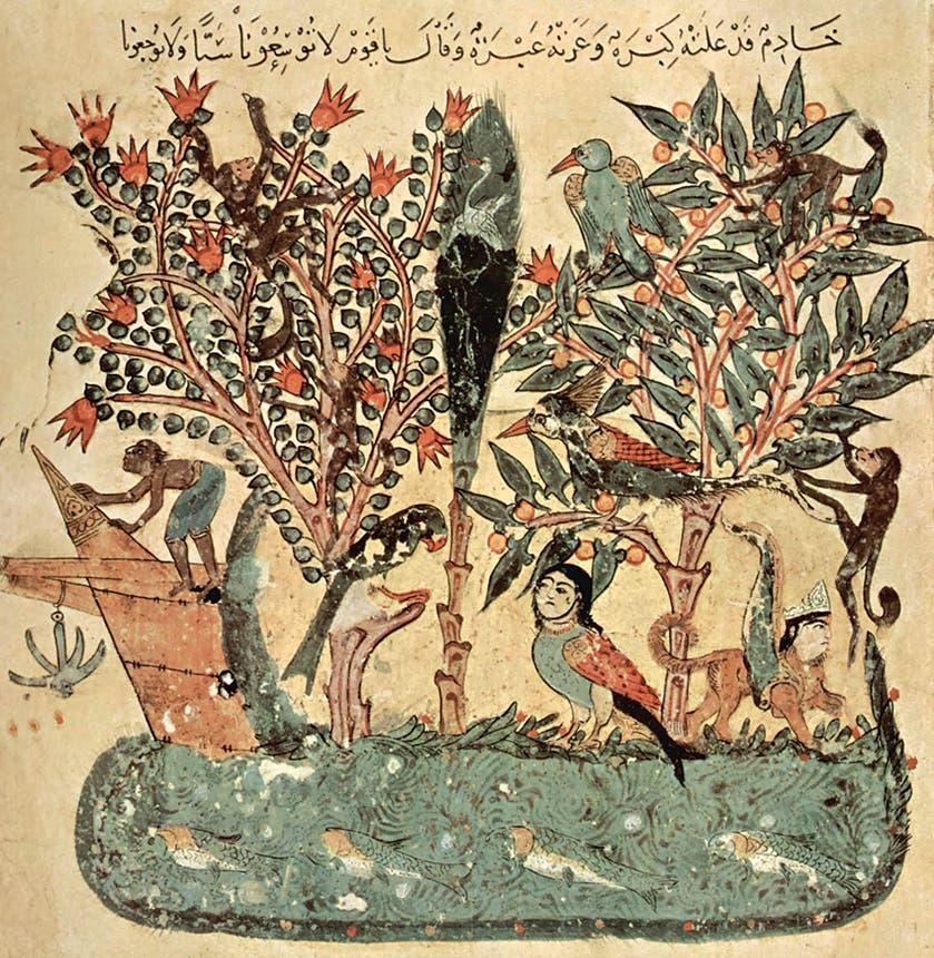 الواسطي رسم لكتاب المقامات الحريرية
