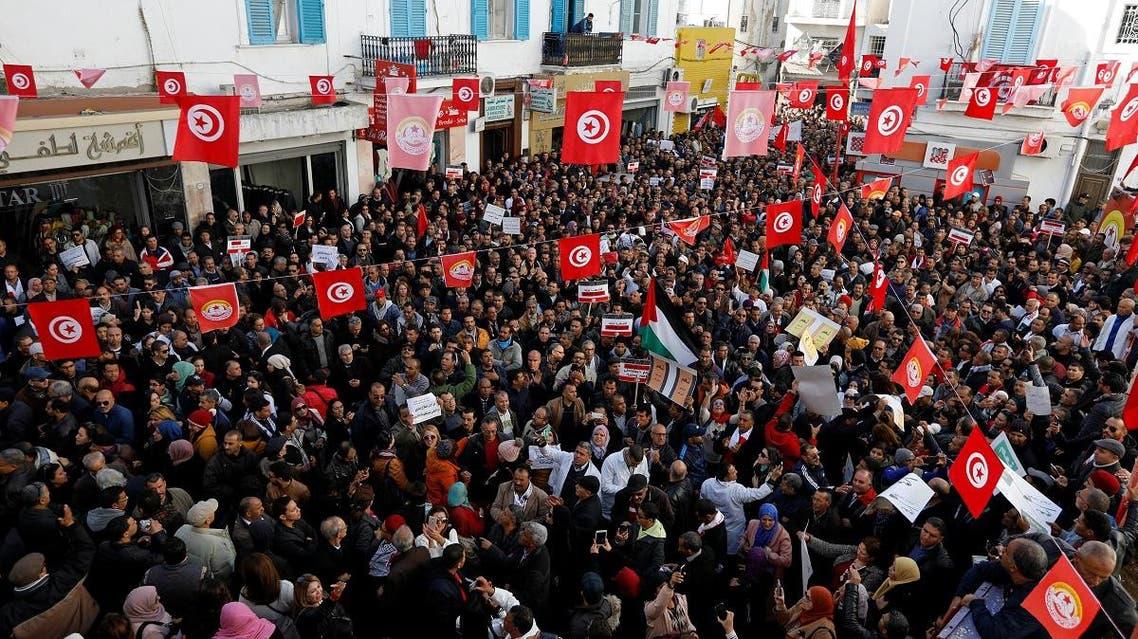 Tunisia protests. (File photo: Reuters)