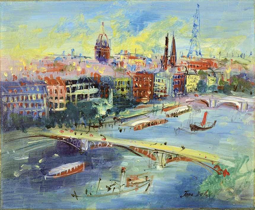 جان دوفي جسور السين 1954