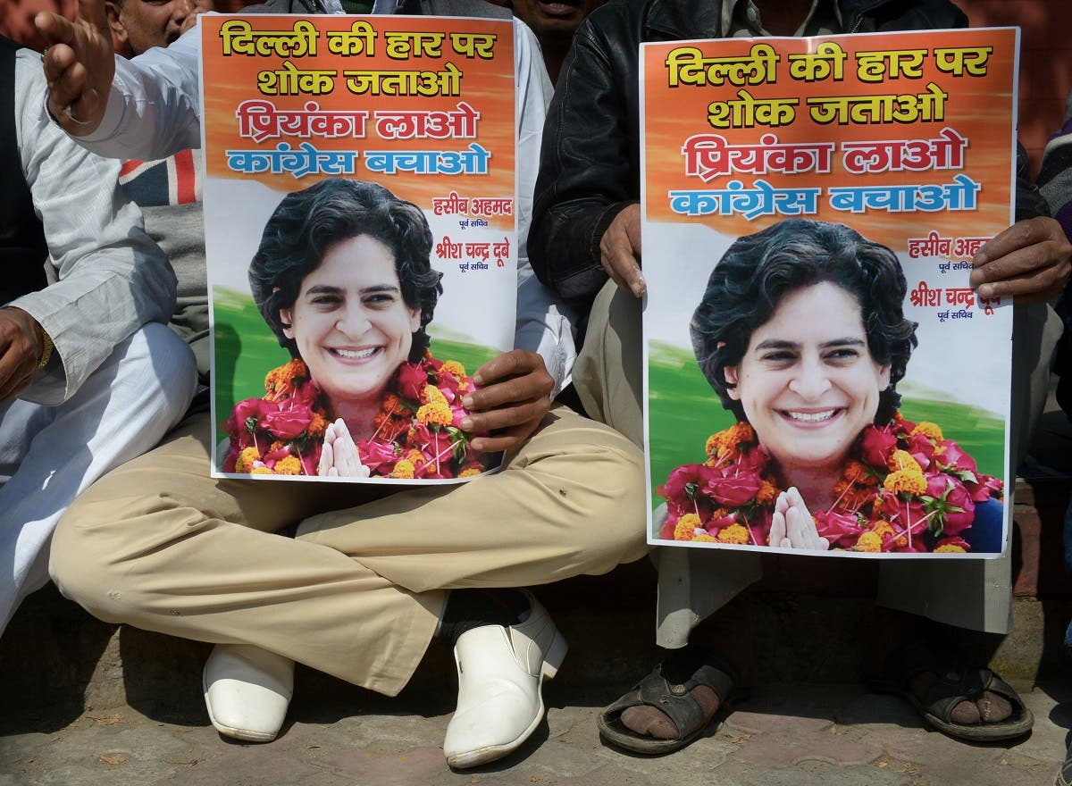 Priyanka Gandhi. (AFP)